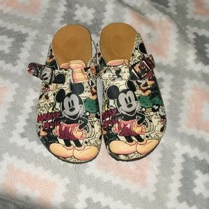 Mickey Mouse Women's Slide On Shoes!